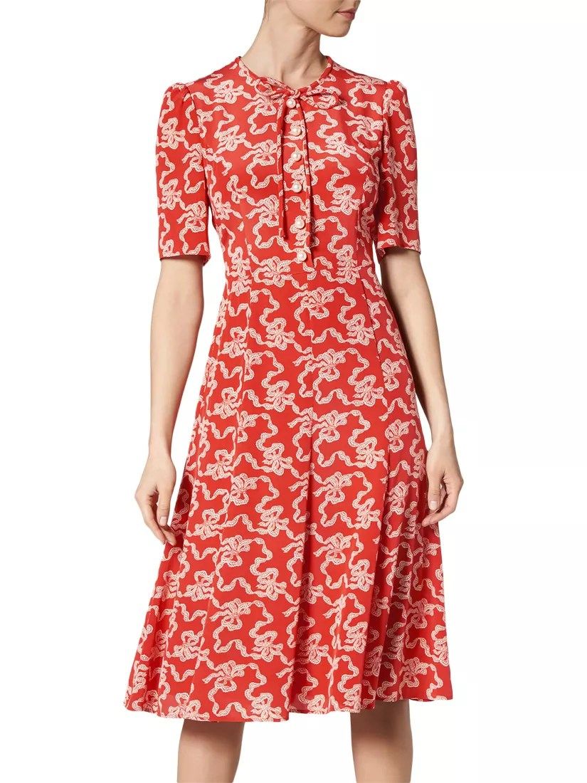 LKBennett Montana Silk Dress At John Lewis Amp Partners
