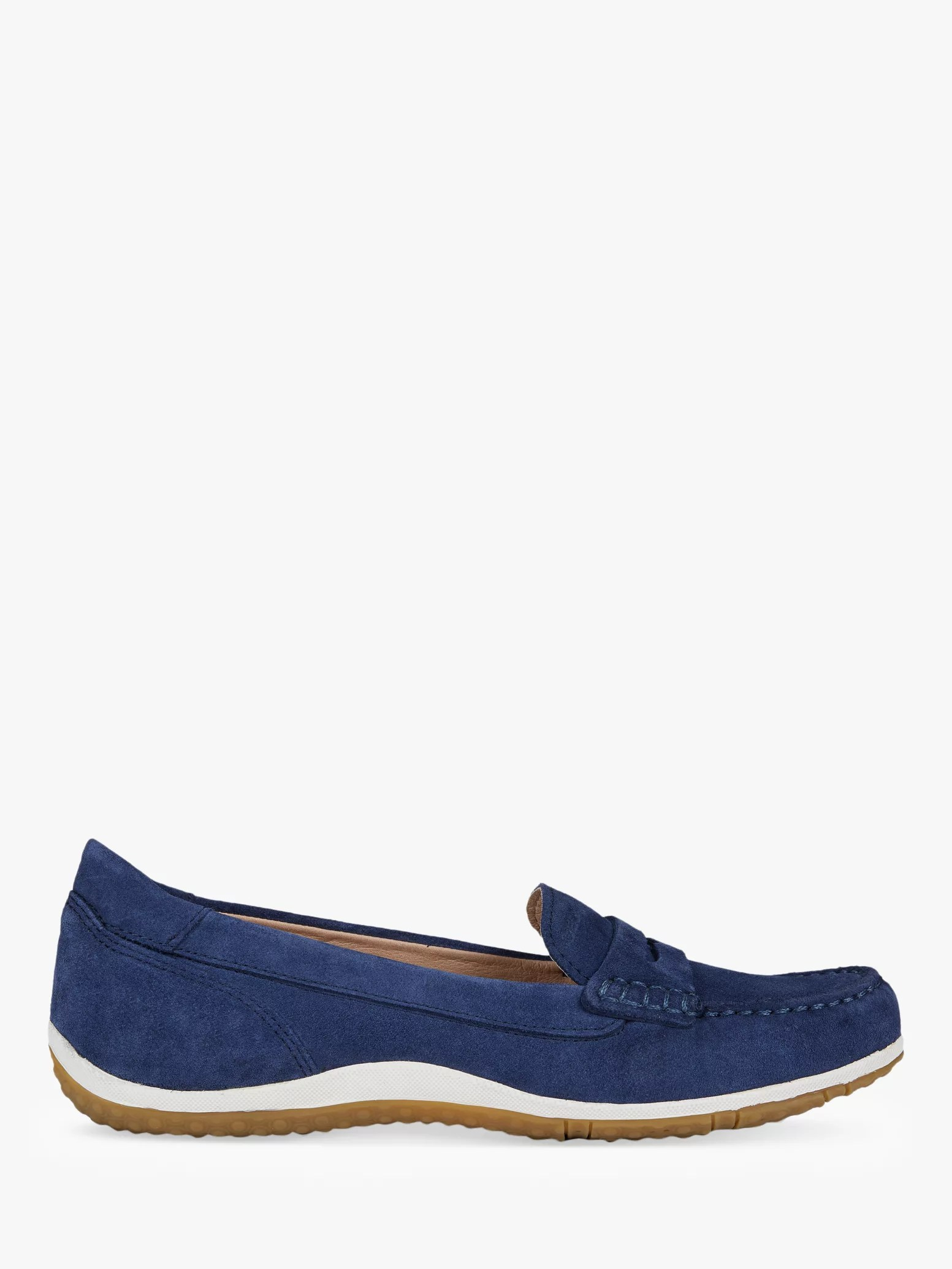 Womens Blue Slip On Shoes