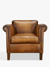 John Lewis Camford Leather Armchair, Buffalo Antique at ...
