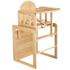 High Chair Converts To Table And Folding Adirondack Chairs East Coast Combination Wooden Highchair At John Lewis