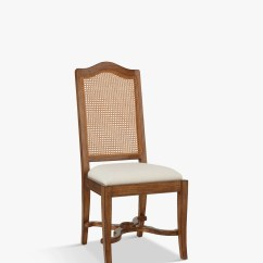 Cane Back Dining Chair Green Leather John Lewis Hemingway At