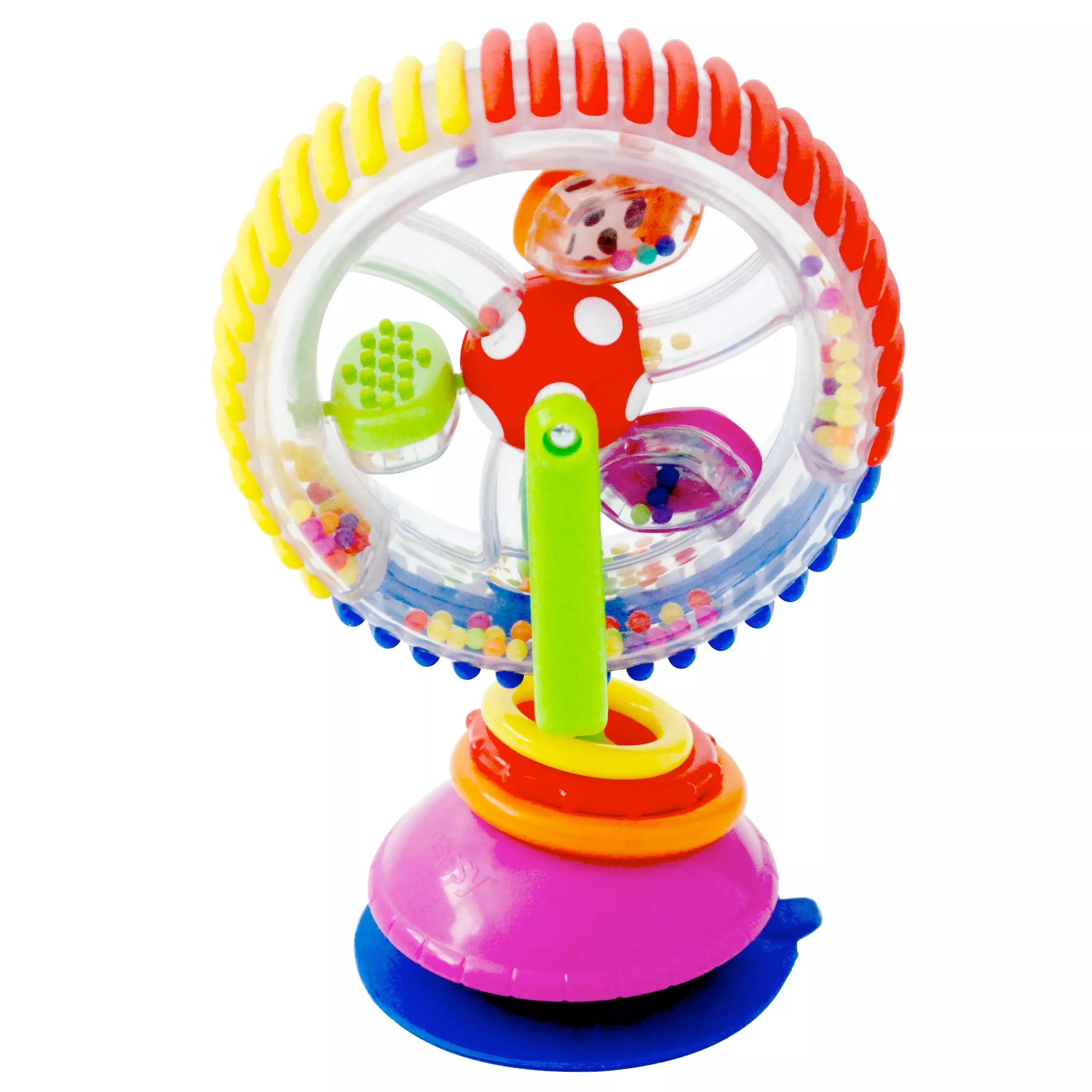 high chair suction toy rocker game sassy wonder wheel highchair at john lewis and partners