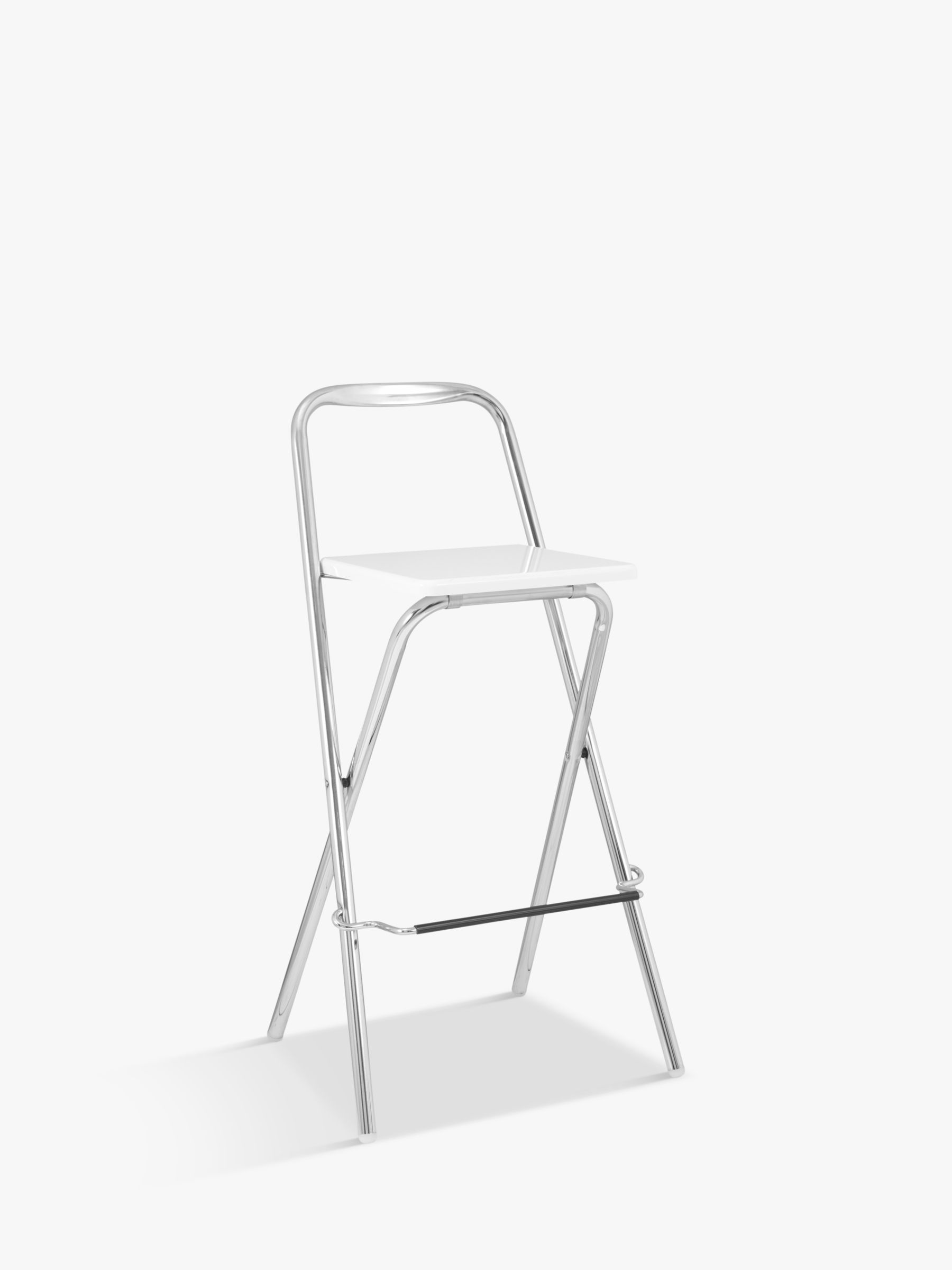 folding bar stool chairs chicago chair inc house by john lewis verona at partners buyhouse white online johnlewis com