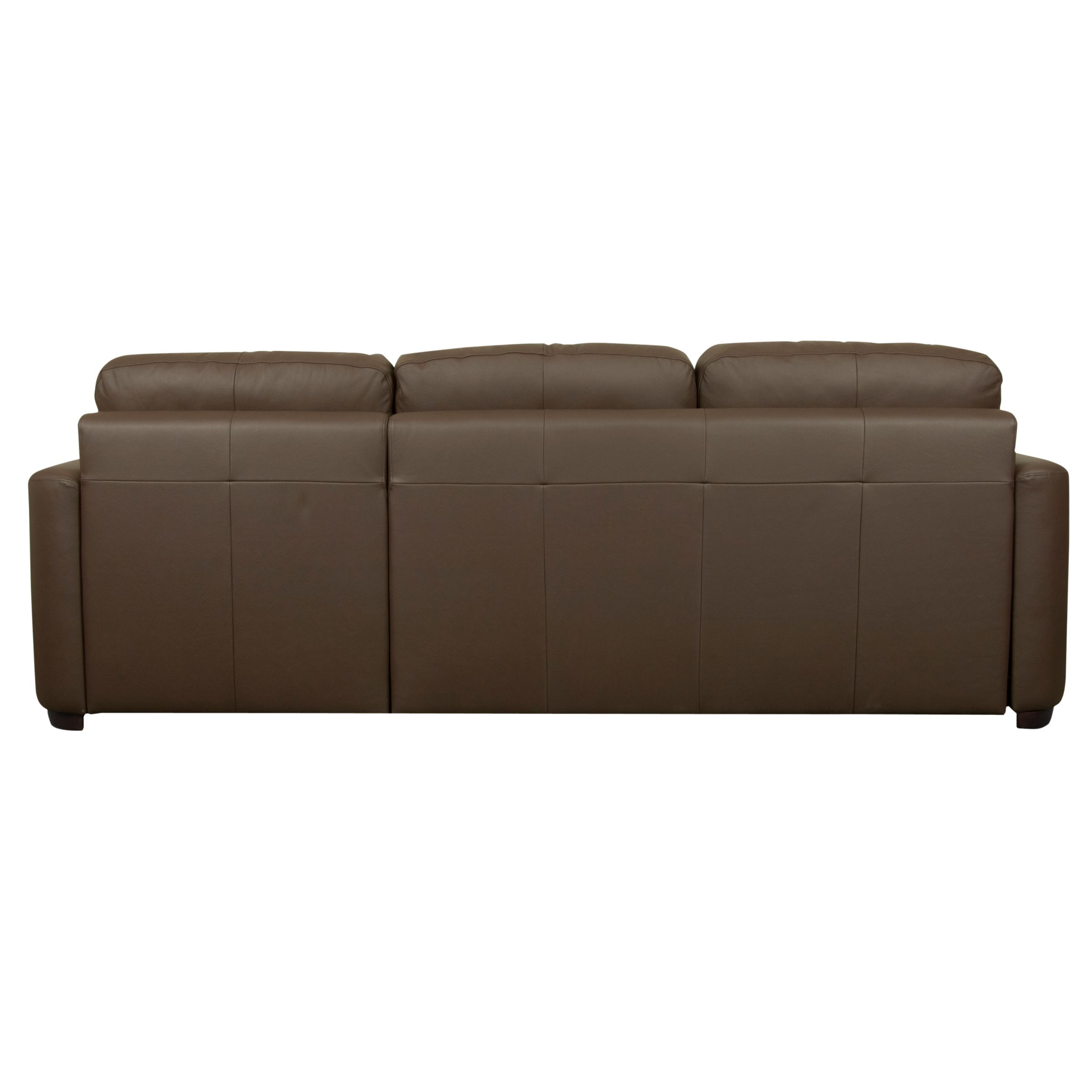 sacha large leather sofa bed madras chocolate italsofa natuzzi john lewis with foam mattress
