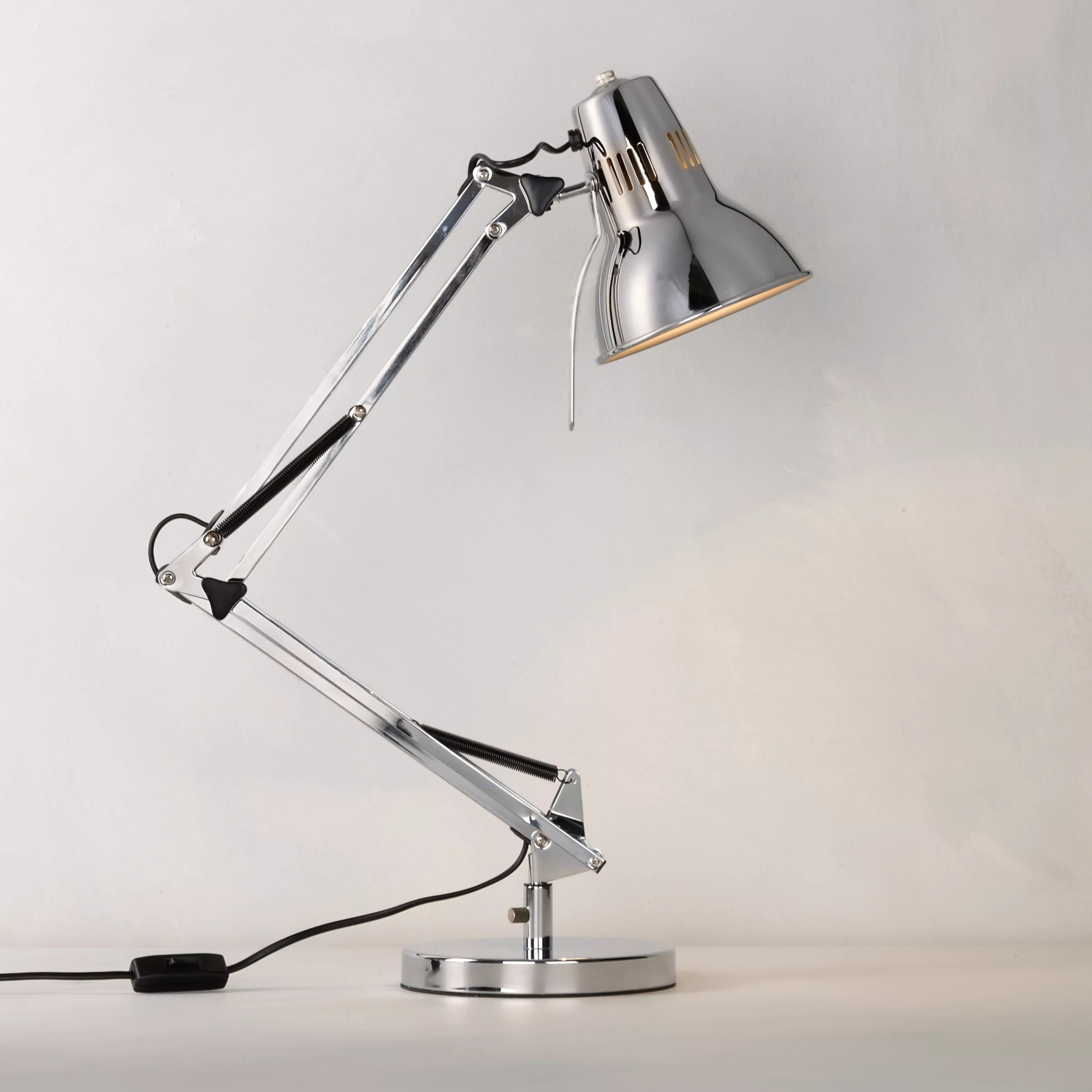John Lewis Elliot Task Lamp Chrome