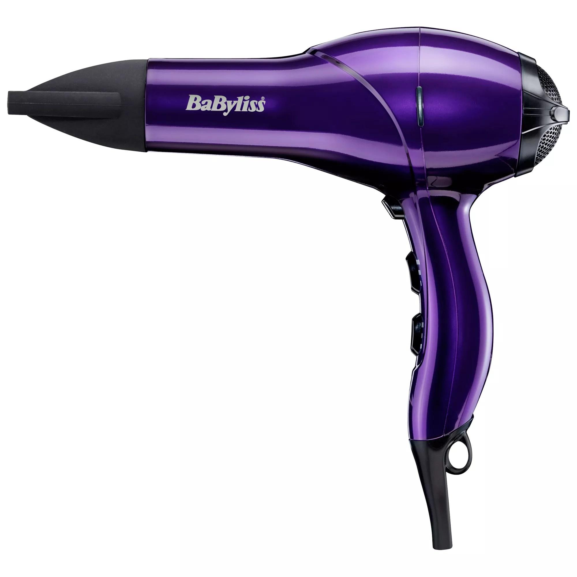 Babyliss ac2100 salon light hair dryer purple online at johnlewis com