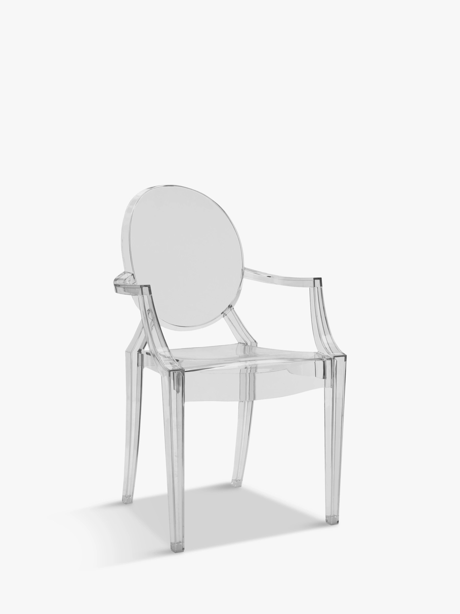 Philippe Starck for Kartell Louis Ghost Chair at John Lewis