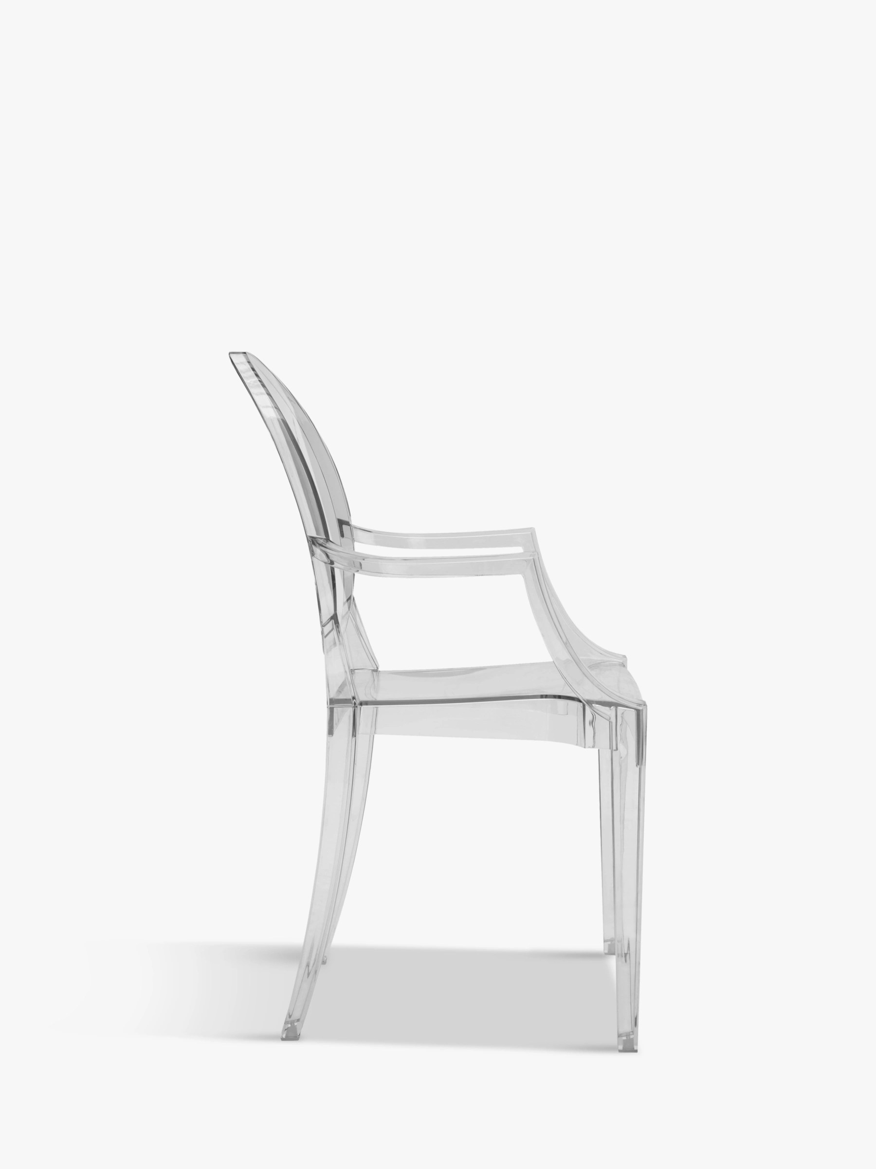 Buy Philippe Starck for Kartell Louis Ghost Chair  John Lewis