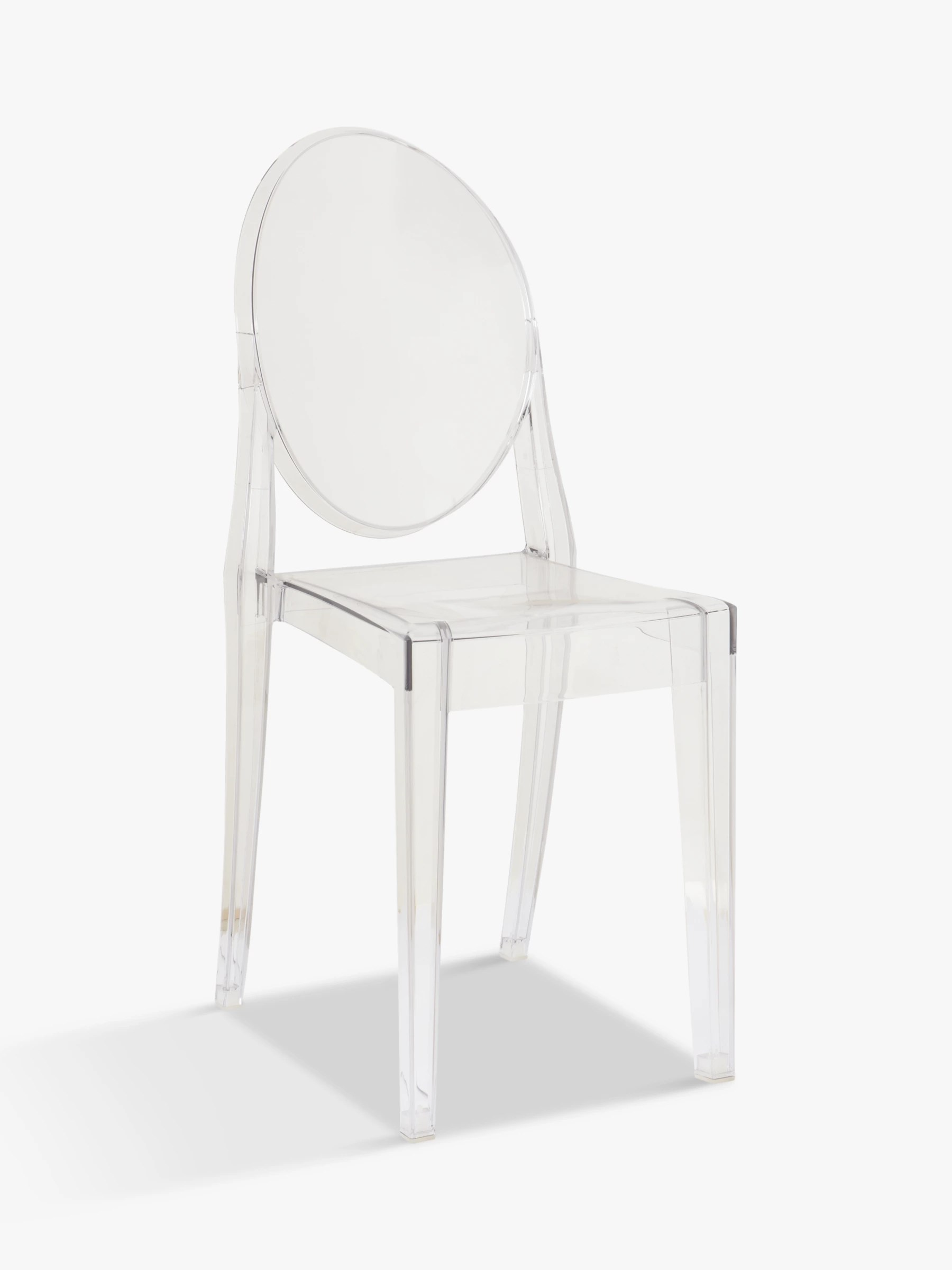 victoria ghost chair jrc accessories philippe starck for kartell at john lewis