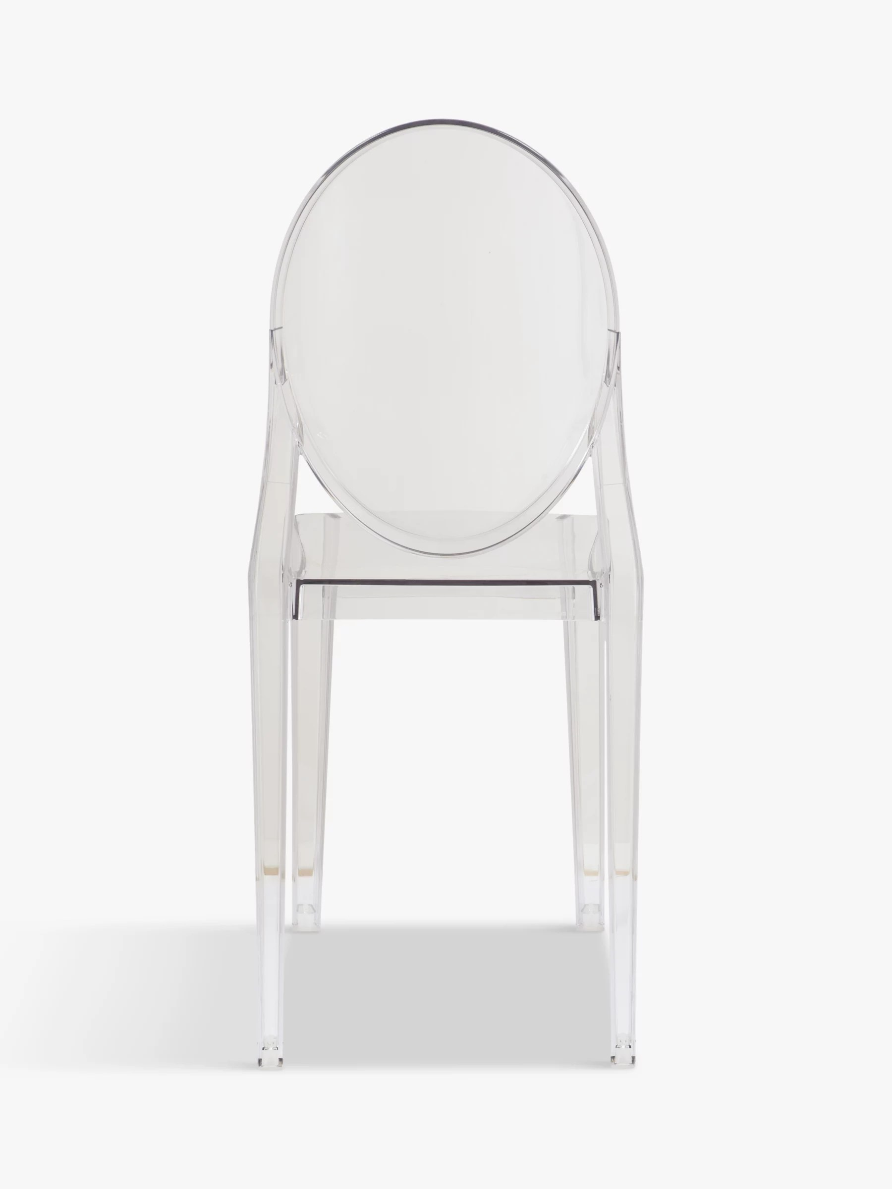 victoria ghost chair mamas and papas vibrating philippe starck for kartell at john lewis