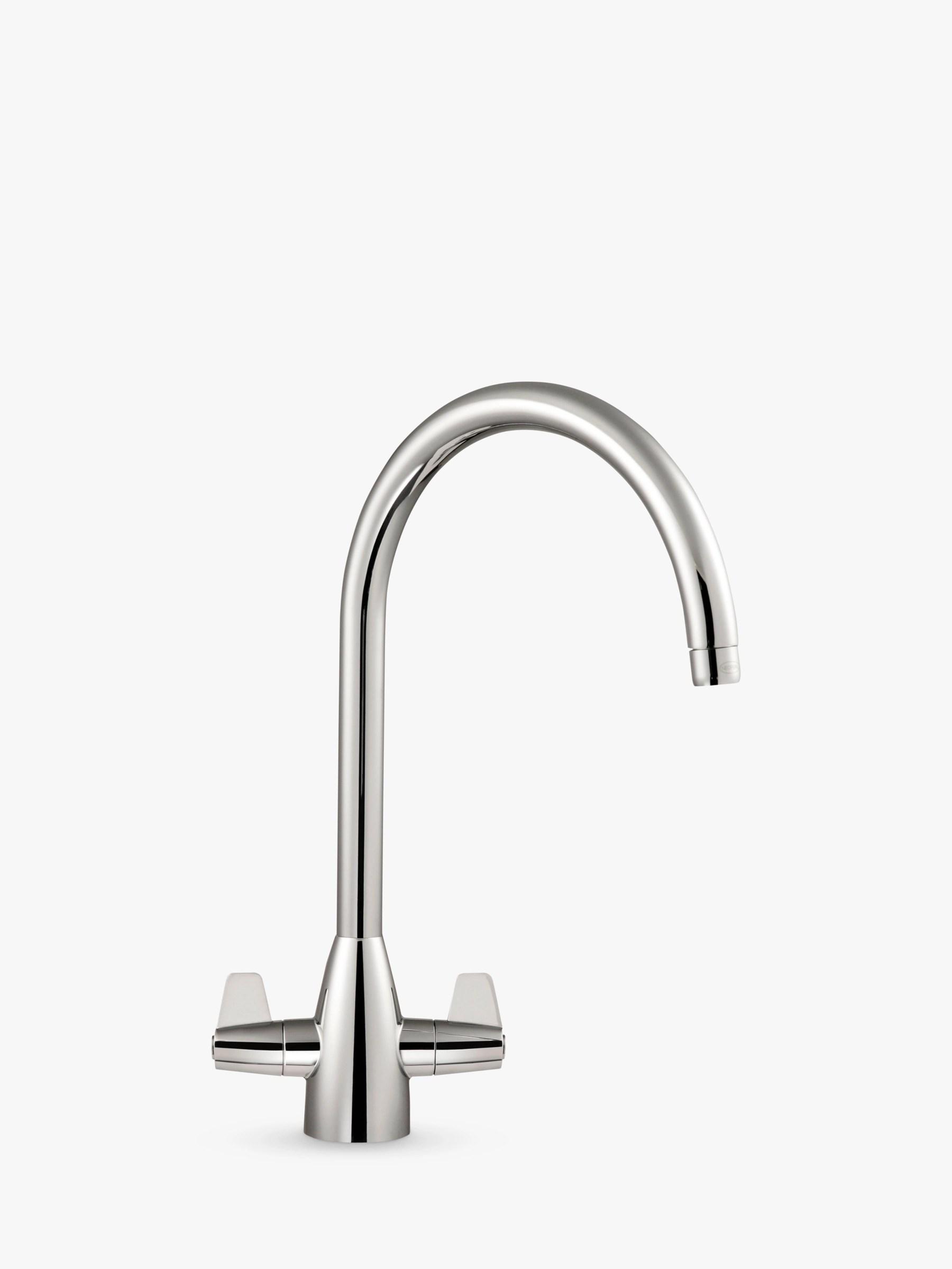 franke kitchen faucet aid appliances taps john lewis partners davos j spout 2 lever tap
