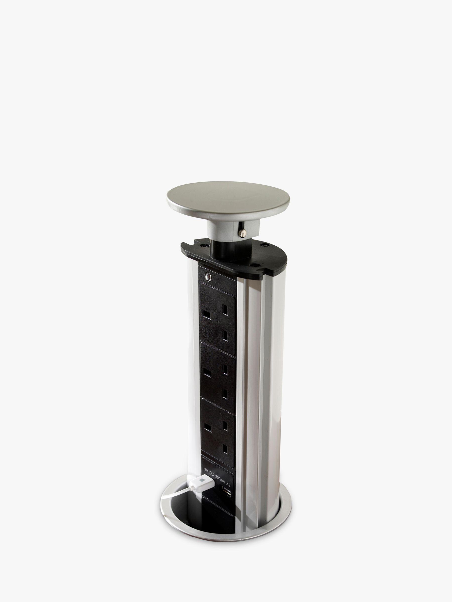 pop up outlets for kitchen builder app john lewis socket with usbs at