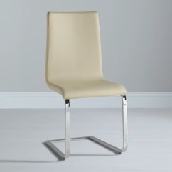 Beige Leather Dining Chairs Power Chair Parts John Lewis Frost At