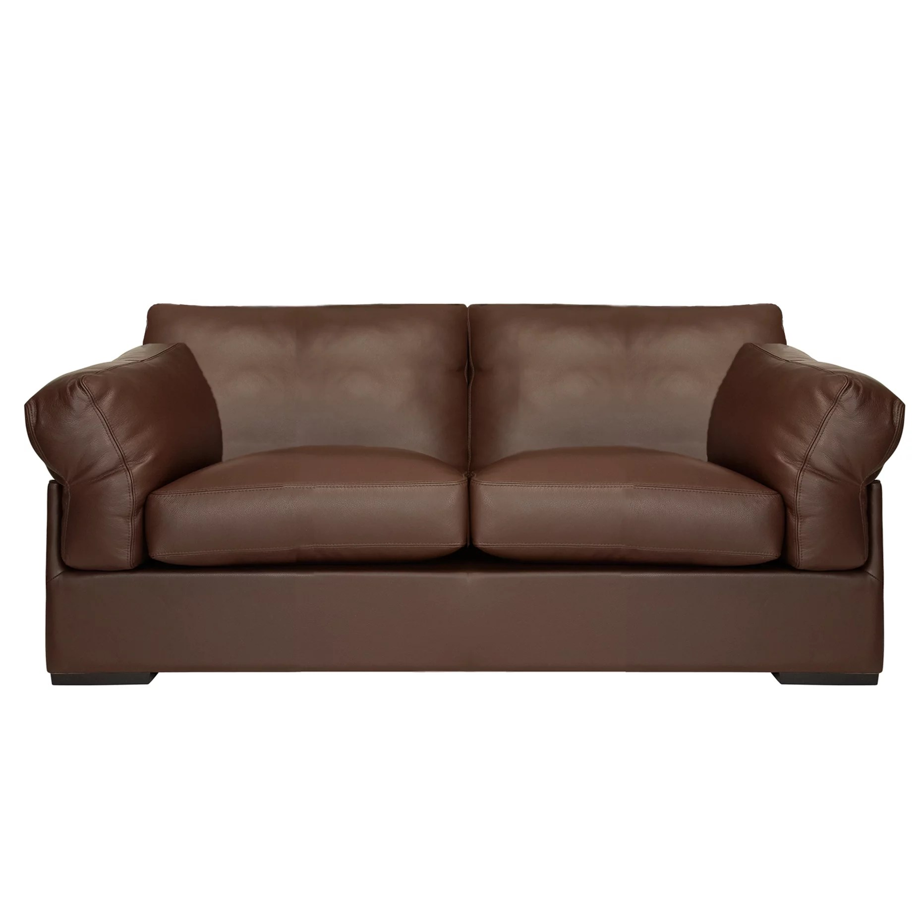 2 piece brown leather sofa backless john lewis partners java medium seater nature buyjohn online at johnlewis