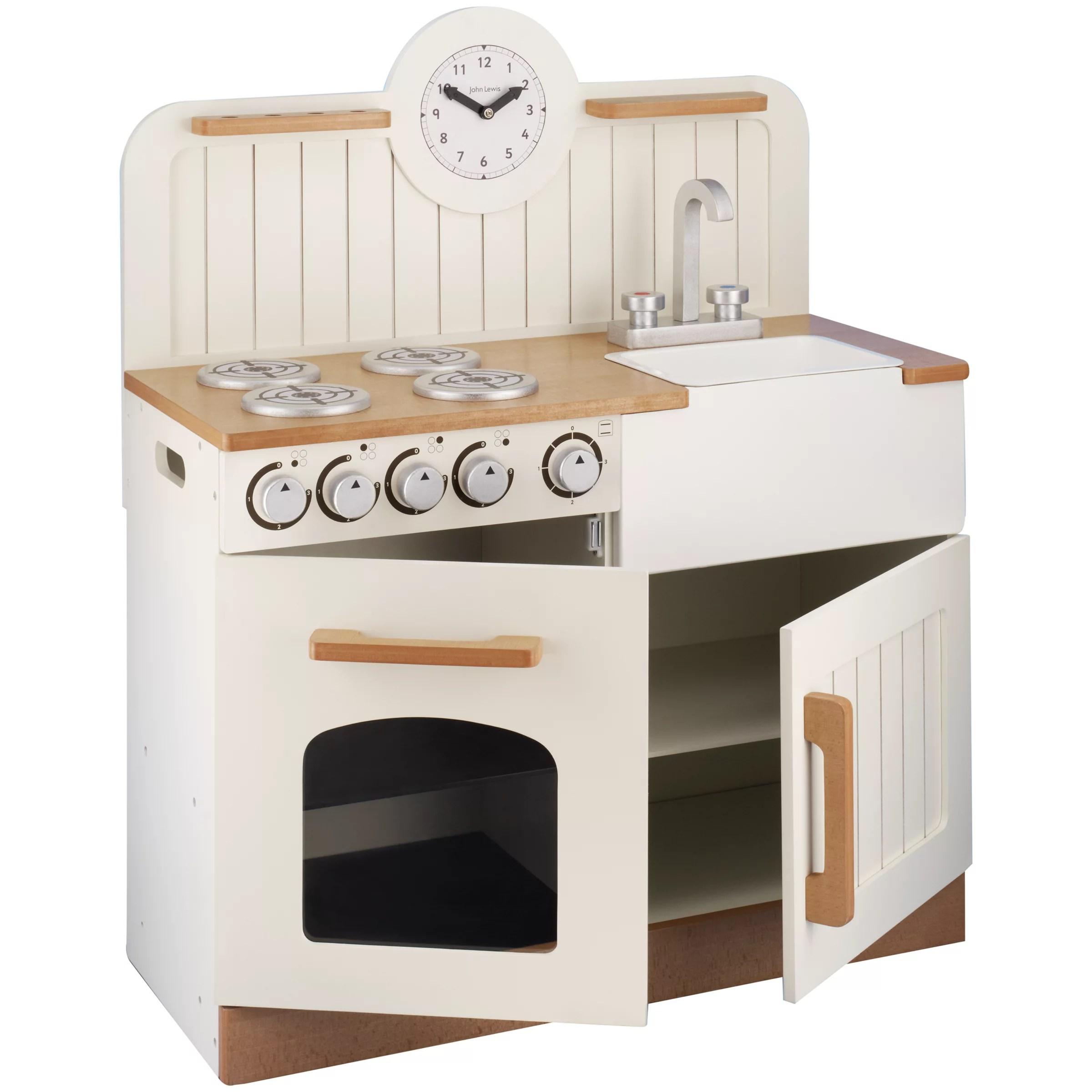 Buy John Lewis Country Play Wooden Kitchen  John Lewis