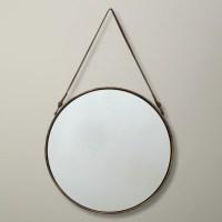 Buy John Lewis Round Hanging Mirror, Dia.38cm   John Lewis