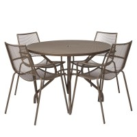 John Lewis Ala Mesh 4-Seater Garden Dining Table and ...