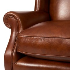 John Lewis Armchair Covers Graco Duodiner Lx High Chair Charles Leather London Saddle At