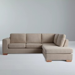 Average Weight Of A Large Sofa Set Furniture Philippines John Lewis Felix Rhf Corner Chaise End With Light