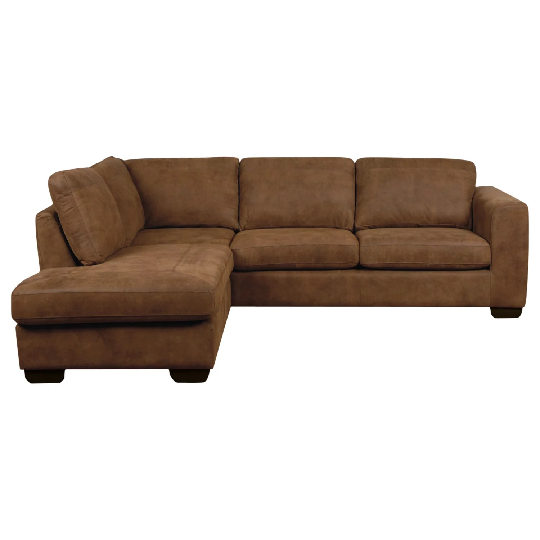 felix leather lh corner chaise sofa y john lewis lhf ashanti at