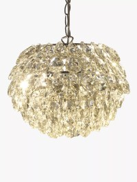 John Lewis Alexa Tear Drop Ceiling Light Pendant at John Lewis