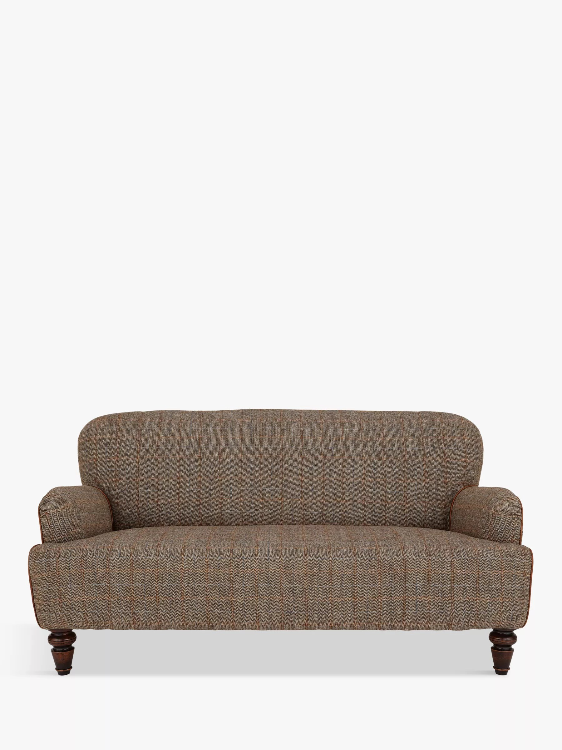 Buy Tetrad Harris Tweed Lewis Petite 2 Seater Sofa Bracken Tan