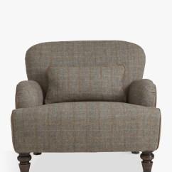 John Lewis Armchair Covers Sam Moore Chairs Tetrad Harris Tweed Bracken Tan At