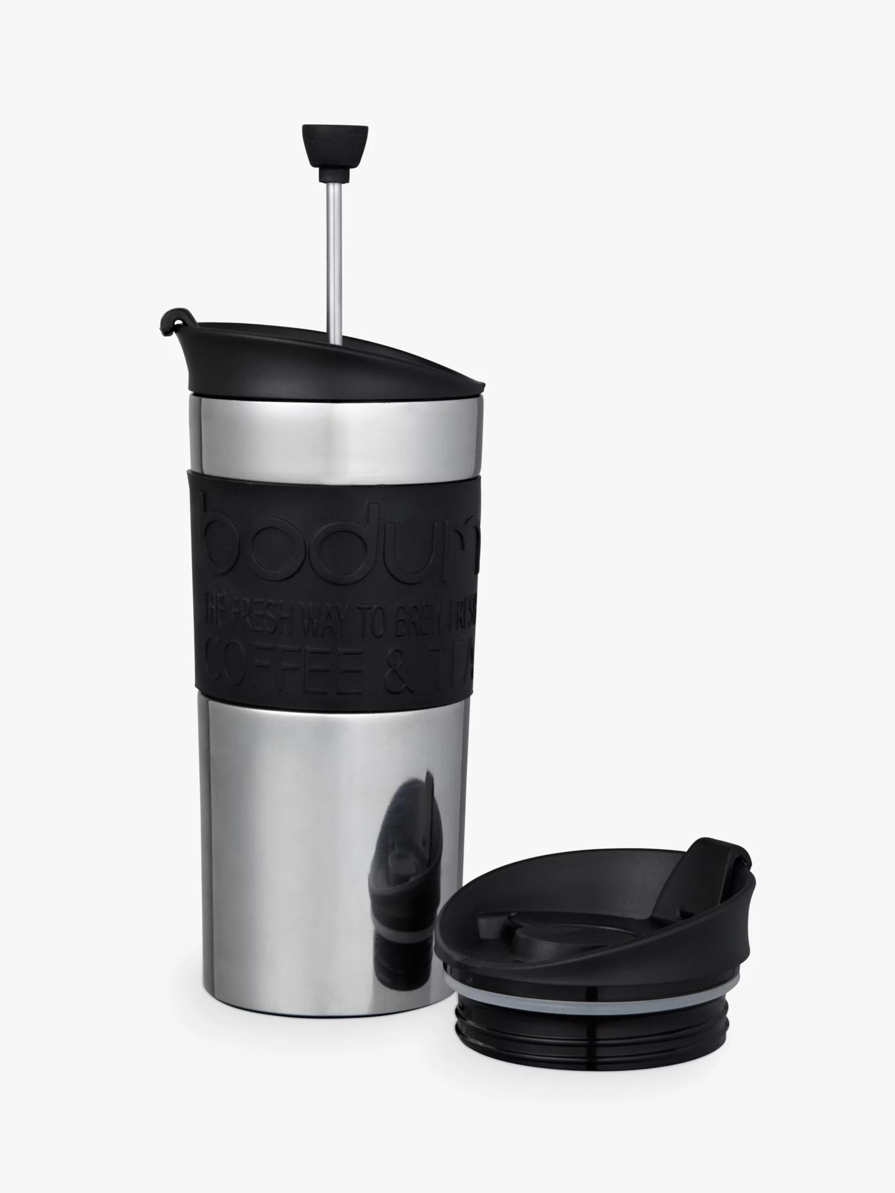 Bodum Travel Press Coffee Maker Set With Extra Lid 350ml
