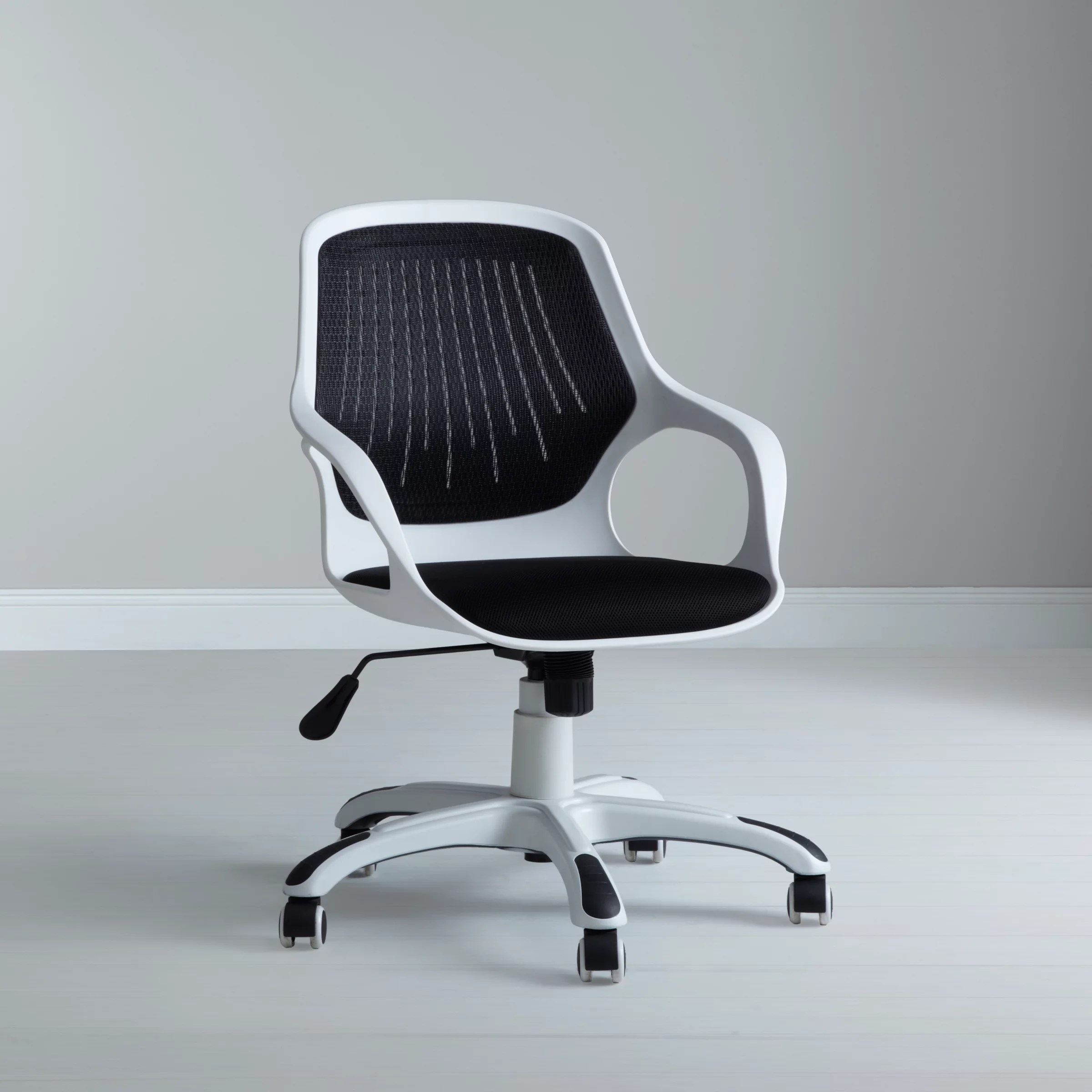back support for office chair malaysia maternity nursing buy john lewis wade chair, black |