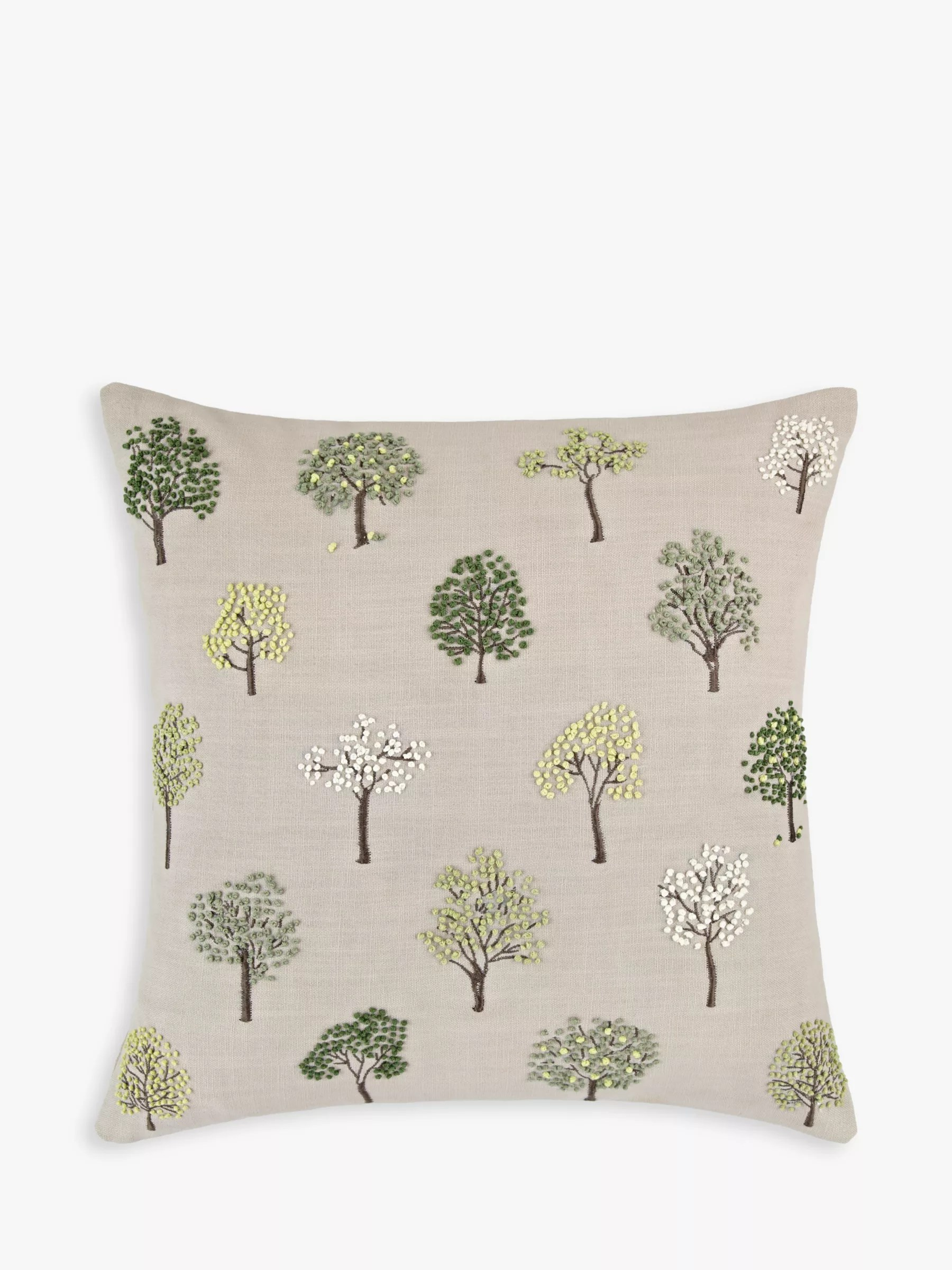 John Lewis Amp Partners Mini Trees Cushion At John Lewis