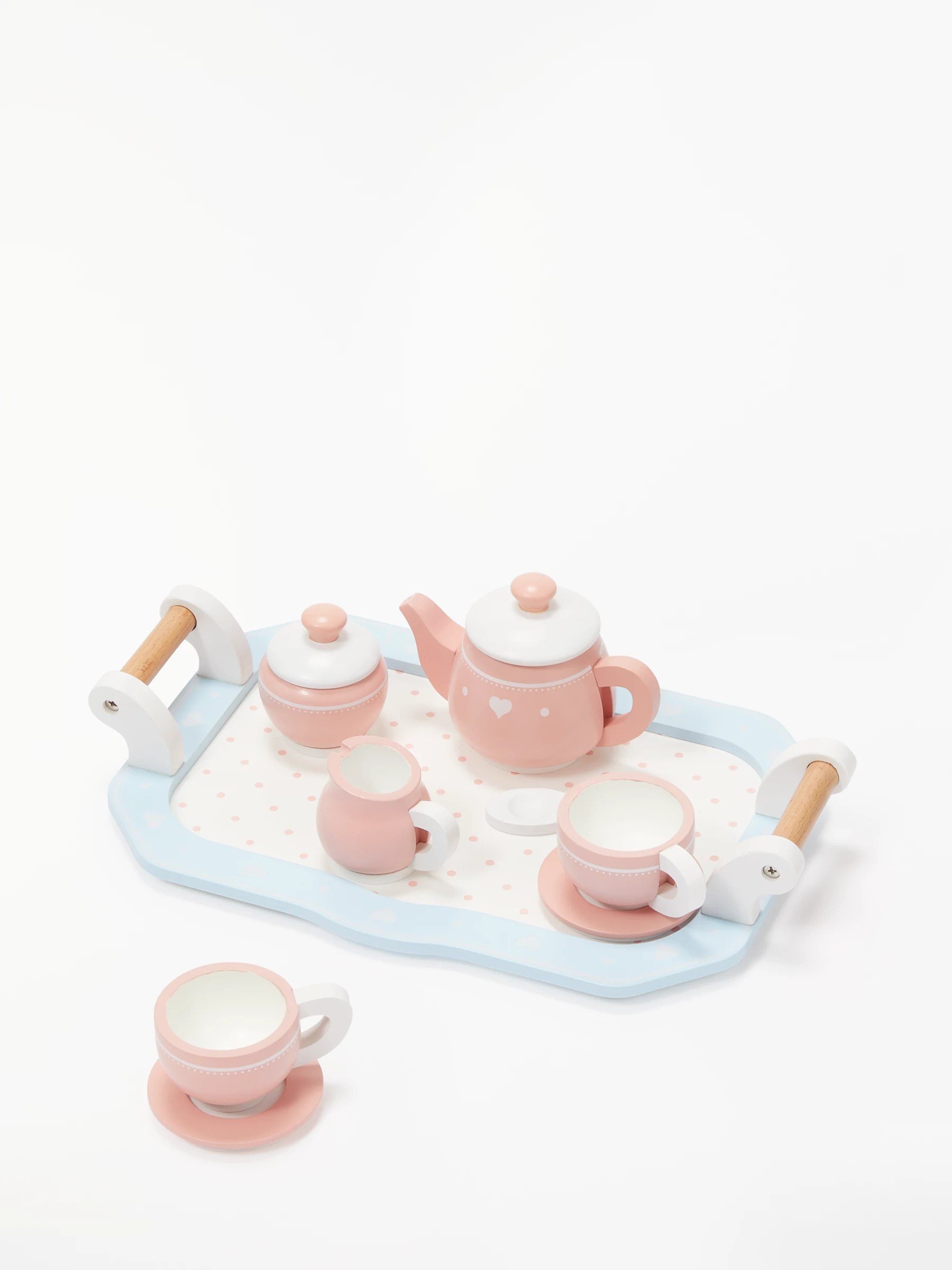 Buy John Lewis Wooden Toy Tea Set  John Lewis