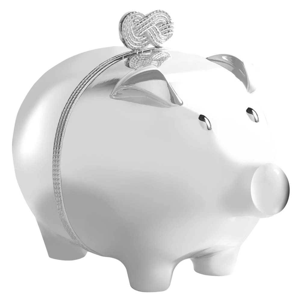 Vera Wang For Wedgwood Infinity Piggy Bank At John Lewis Partners