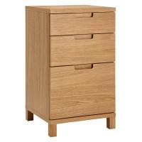 John Lewis Abacus 3 Drawer Narrow Filing Cabinet