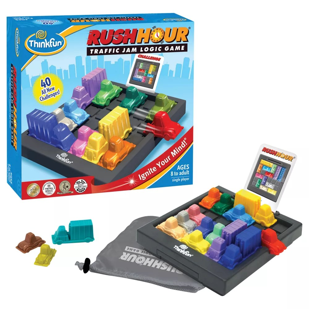 Thinkfun Games Rush Hour Game John Lewis & Partners