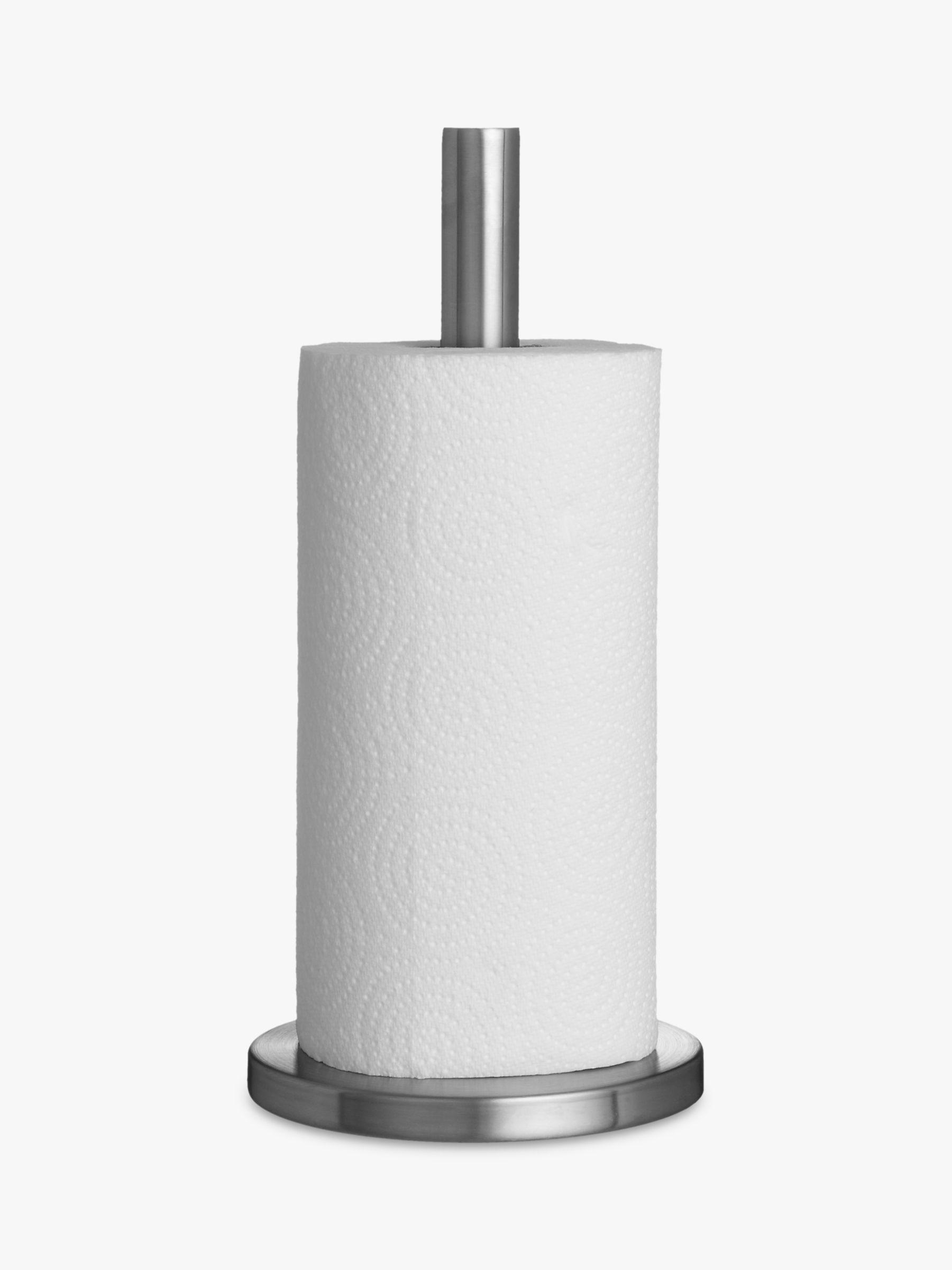 kitchen paper towel holder design rochester ny john lewis partners roll stainless steel at buyjohn online johnlewis com