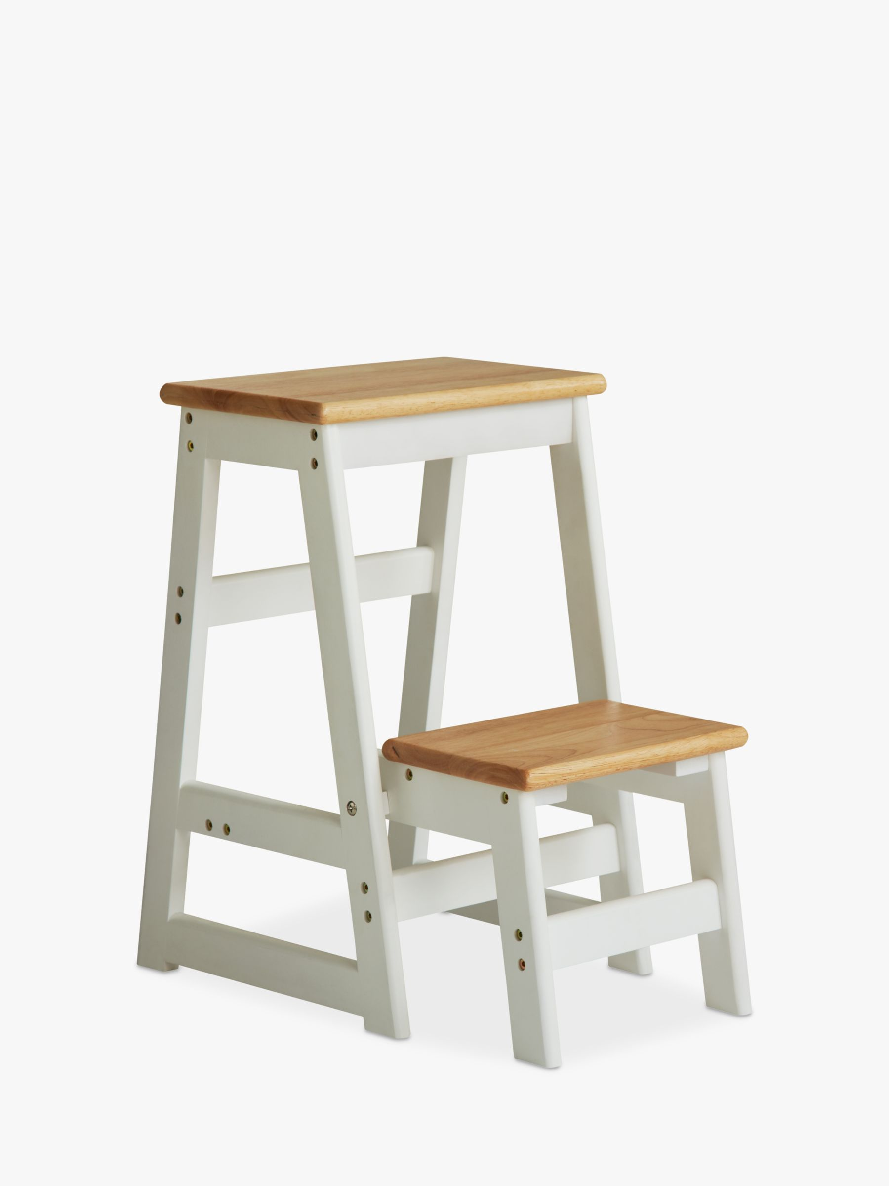 Wooden Step Stool Chair House By John Lewis Fixed Wooden Step Stool At John Lewis