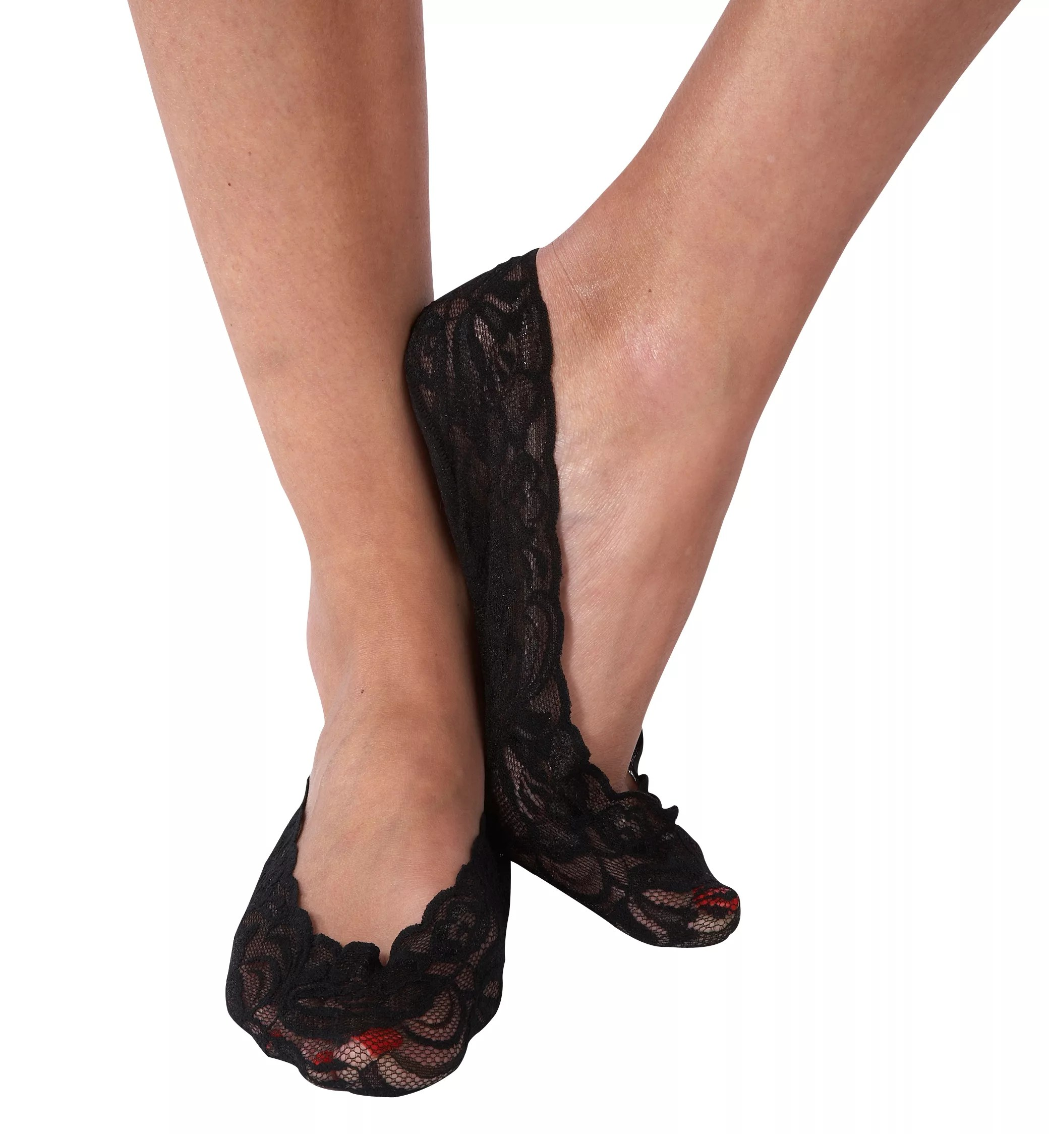 Pretty Polly Lace Footsies at John Lewis & Partners