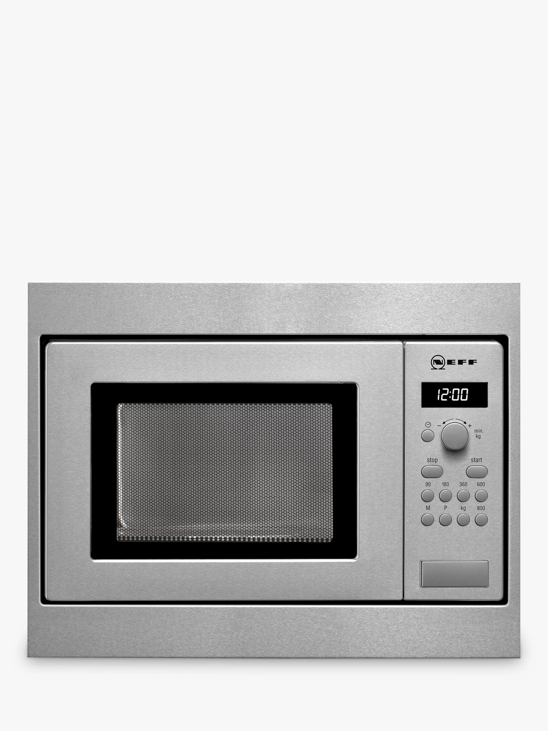 integrated microwave ovens built in