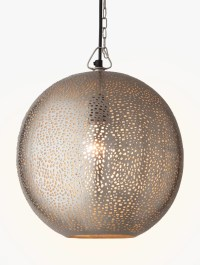 Buy John Lewis Lyra Etched Metal Ceiling Light