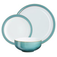 Denby Azure Dinnerware Set, 12 Pieces at John Lewis