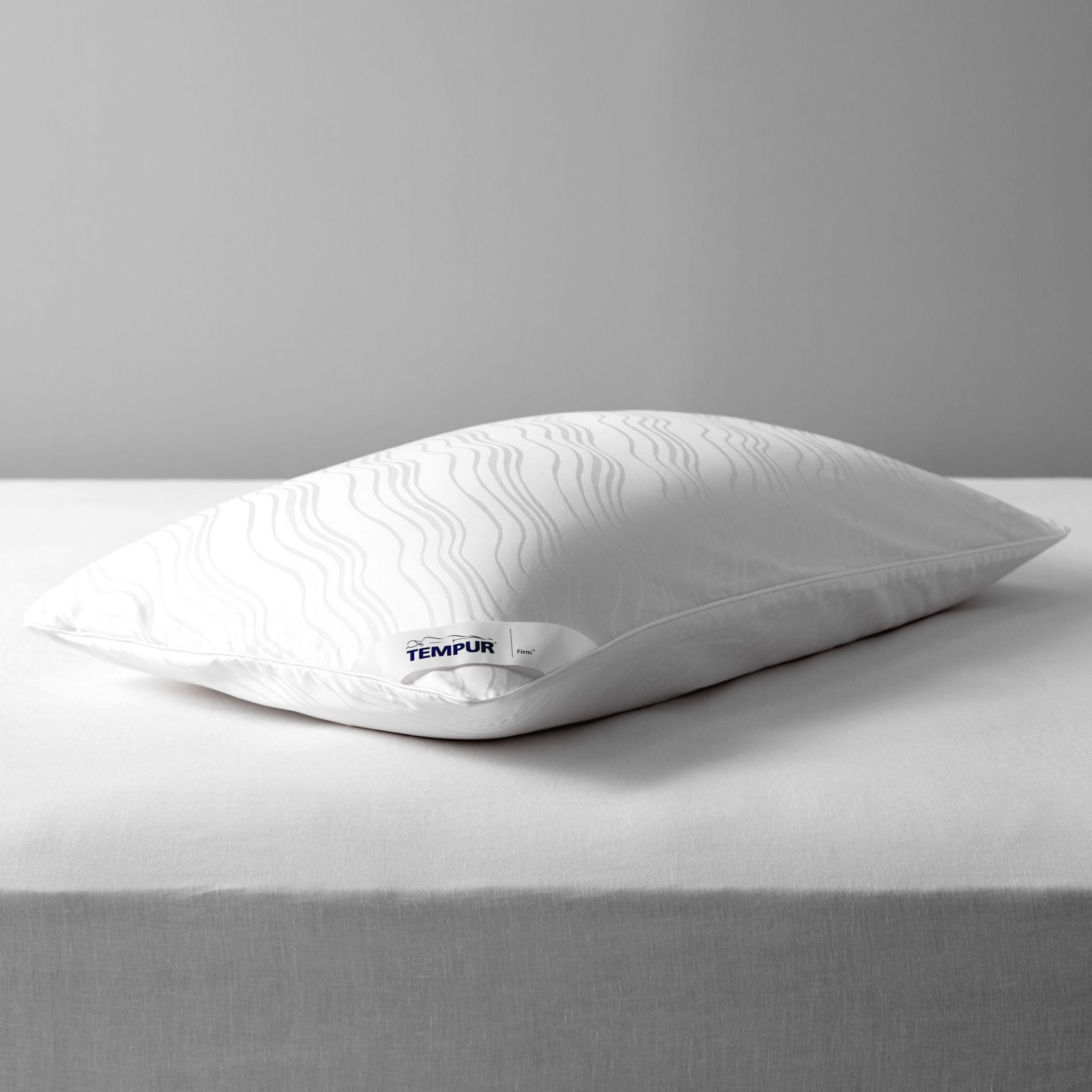 tempur traditional support standard pillow firm