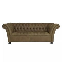 Full Grain Leather Sofa Malaysia Sleeper Loveseat Buy John Lewis Cambridge Medium Sofa, Jin Brown ...