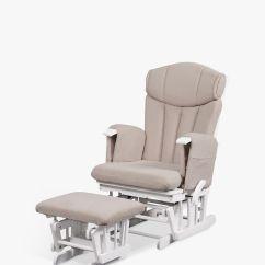 Glider Chair Stool Global Upholstery Kub Chatsworth Nursing Cappucino At John Lewis