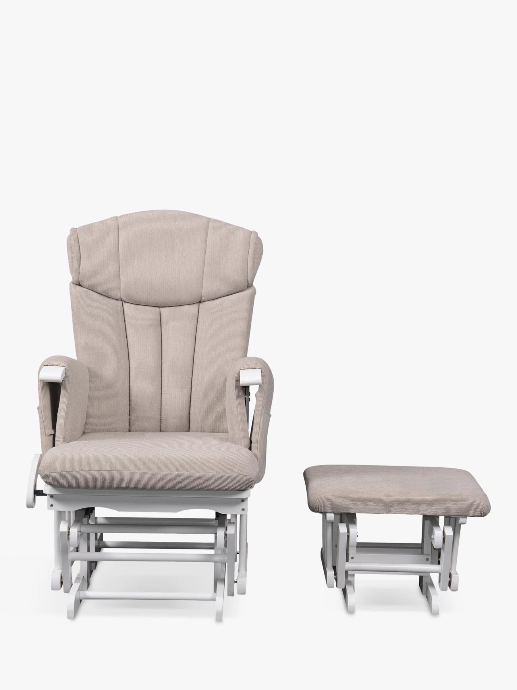 Kub Chatsworth Glider Nursing Chair Cappucino