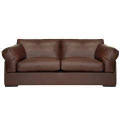 Sacha Large Leather Sofa Bed Madras Chocolate Craigslist Modern Pinterest
