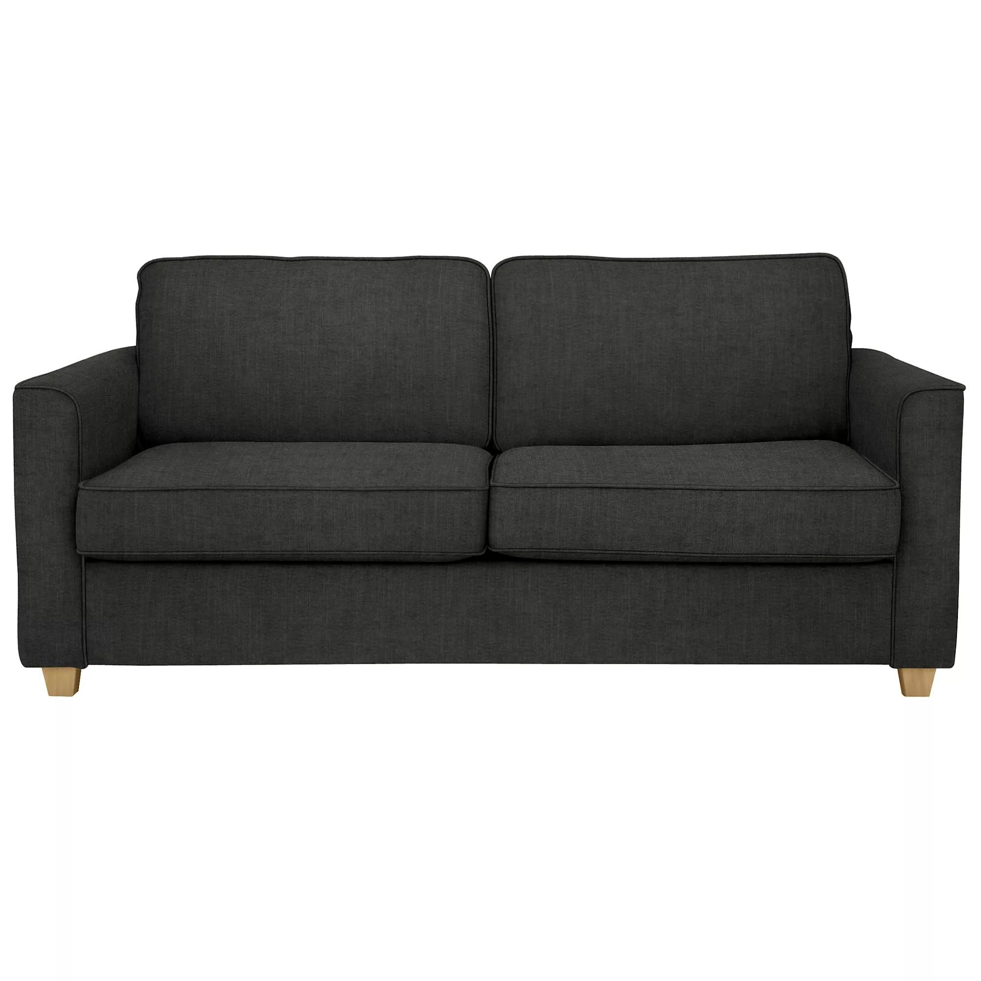 medium sofa bed corner john lewis portia senna charcoal at