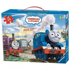 Thomas The Tank Engine Flip Out Sofa Australia Fold Bed John Lewis Partners Ravensburger Friends Floor Jigsaw Puzzle 24 Pieces