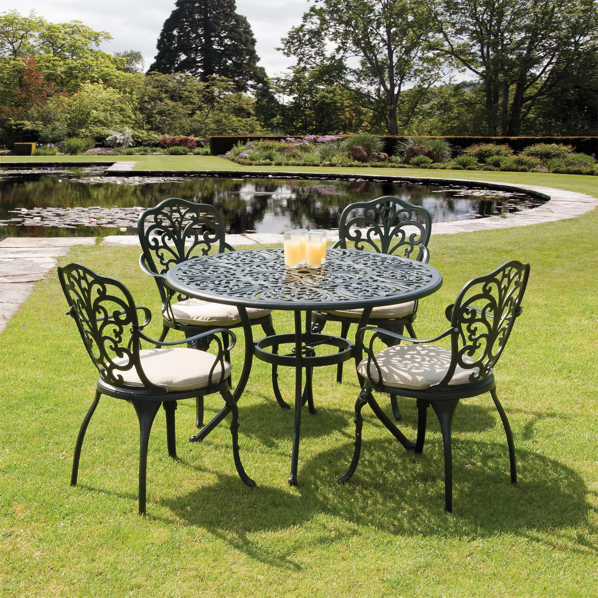4 seater table and chairs white wood desk chair with wheels suntime sussex aluminium outdoor dining