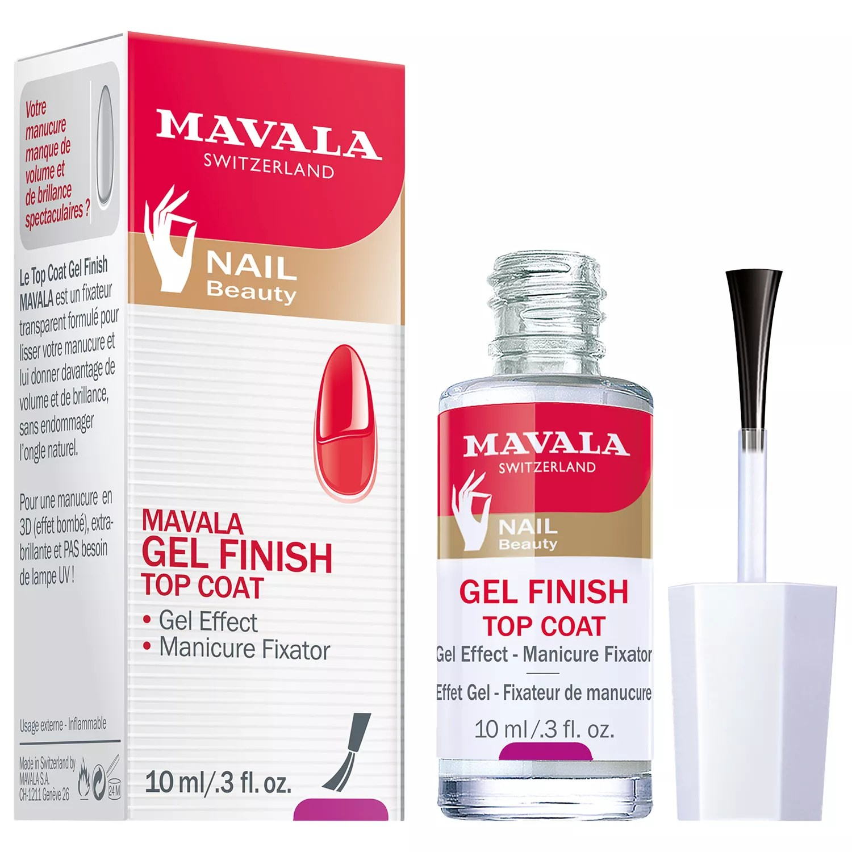 mavala gel effect nail polish top