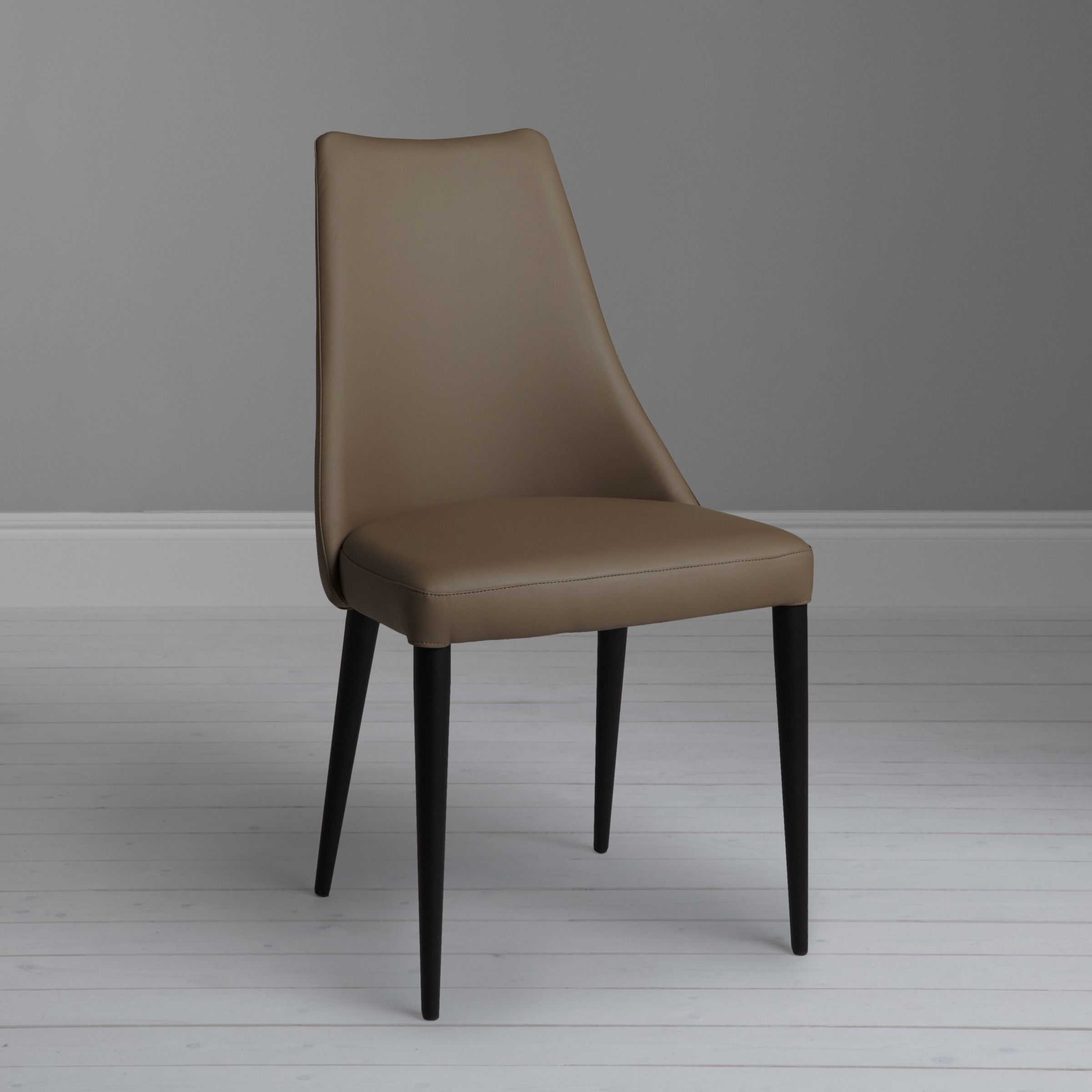 dining chair seat covers john lewis steel and table puccini taupe at